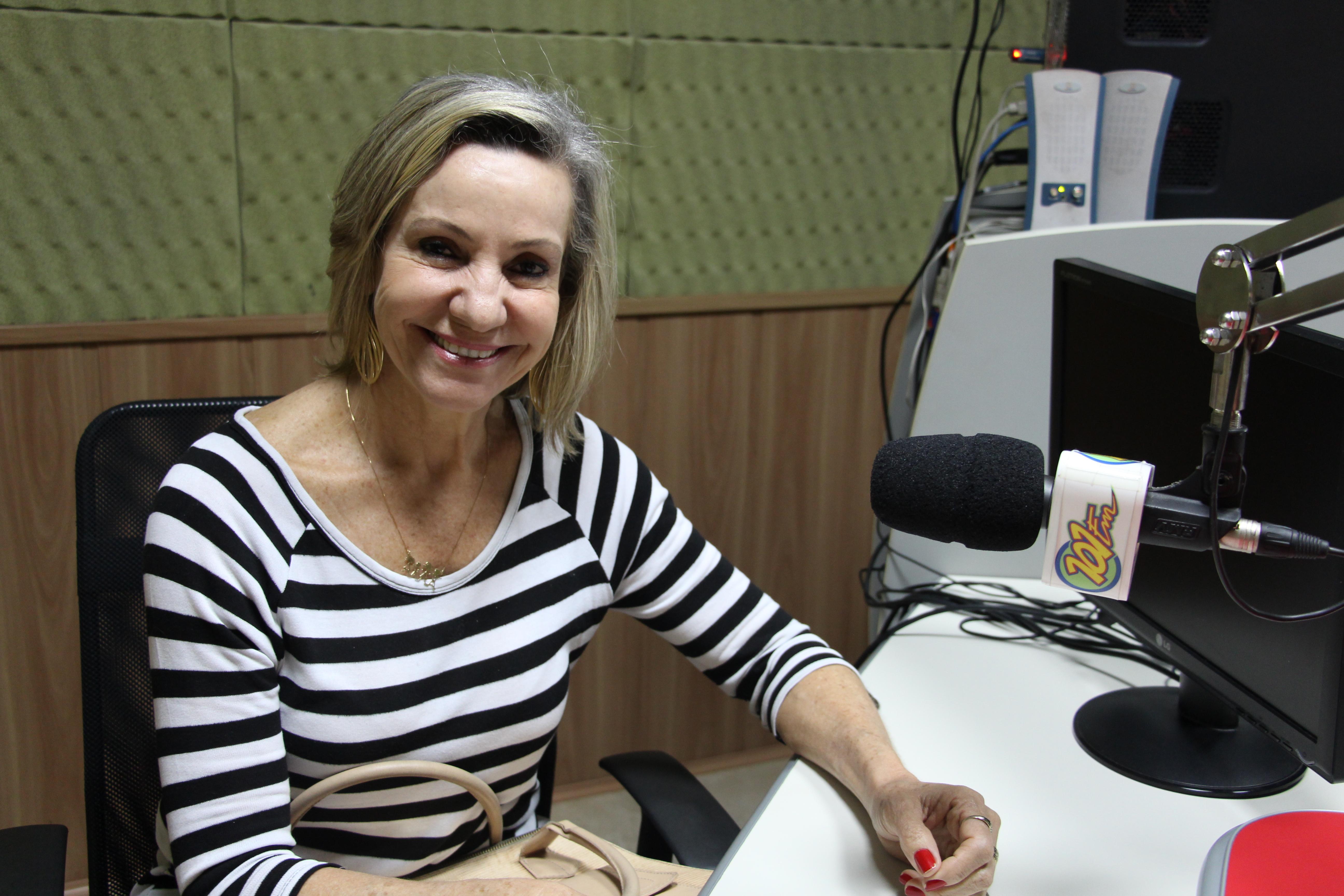 Presidente da Casa da Amizade, Nereida Santos (Foto: Renan Leite/Jornal 101)