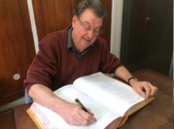 Oficial do Cartório de Registro Civil de Jaboticabal, Ademar Custódio (FOTO: Reginaldo Coelho/Jornal 101)