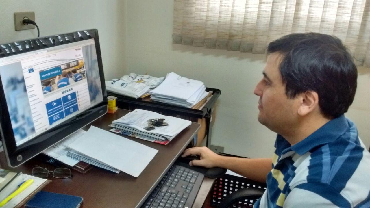 Rodrigo Manolo, coordenador do Procon falou sobre a instalação de fibra ótica em Jaboticabal
