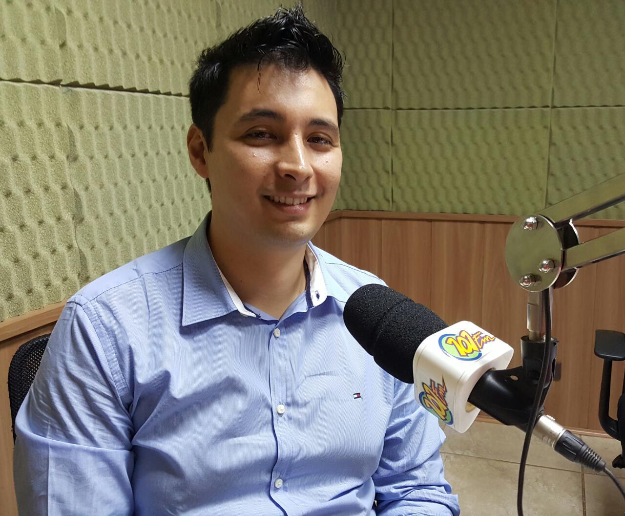 Secretário de Planejamento da Prefeitura, André Nozaki (FOTO: Renan Leite/Jornal 101)