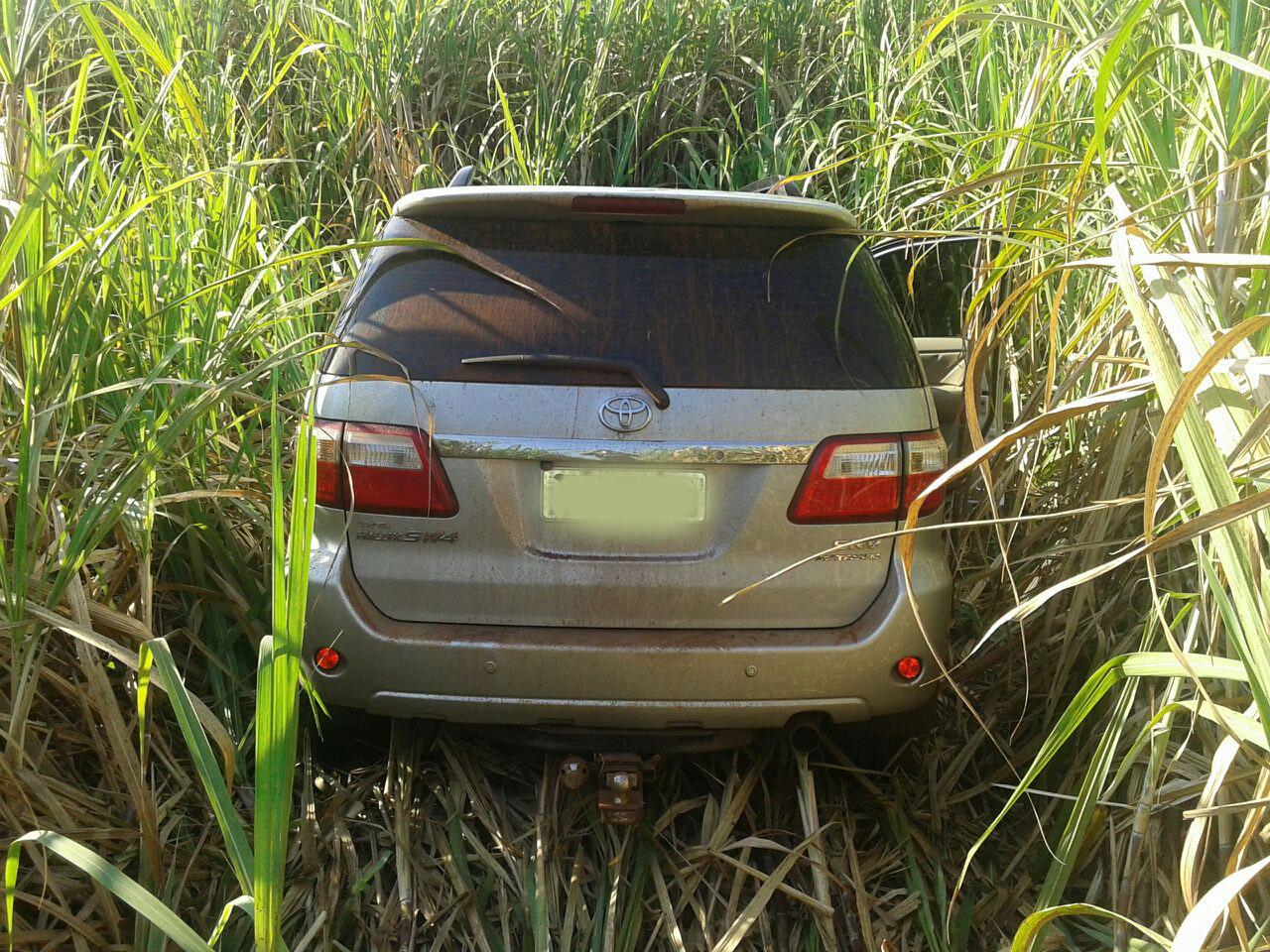 Veículo foi roubado do fazendeiro e foi encontrado pela Polícia