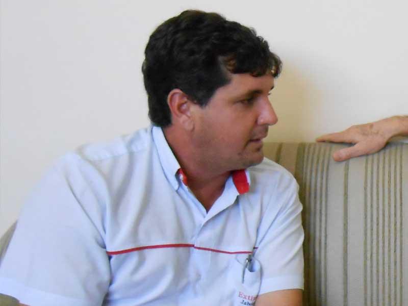 Ednei Valêncio, candidato a vereador mais votado nas eleições 2016
