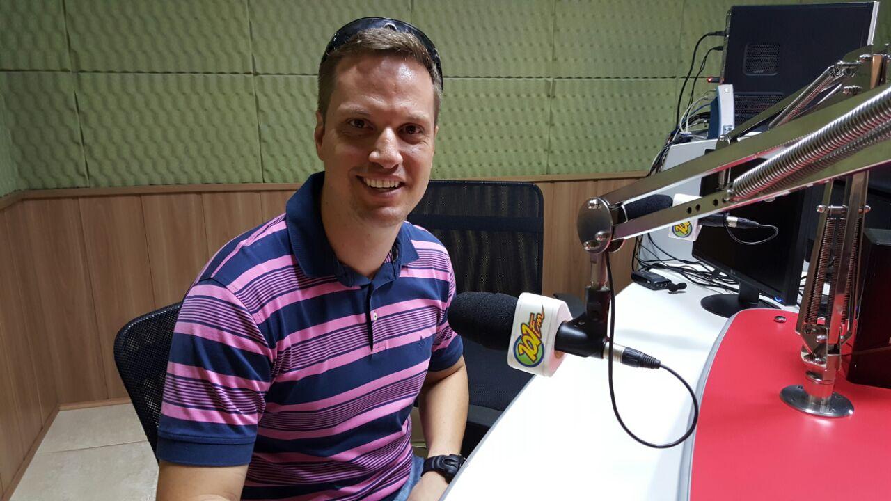 Samuel Cunha, candidato eleito do PSDB (Foto: Renan Leite/Jornal 101)