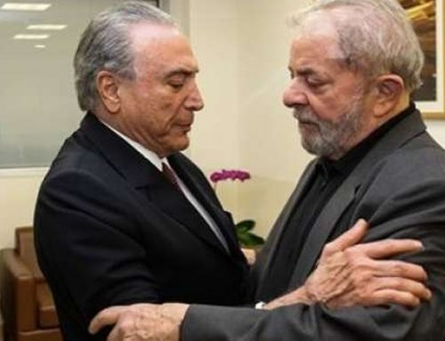 Lula e Temer: mais distantes da corrida presidencial