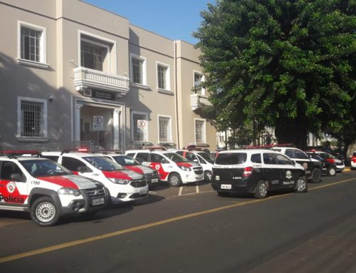 Grande operação: Dr. Oswaldo, da Polícia Civil, e Tenente Ricardo Lopes, da Polícia Militar, comentam ação em Jaboticabal