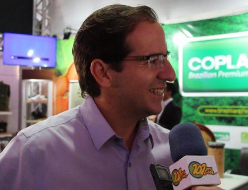Presidente da Coplana, José Antonio Rosatto Junior comenta sobre o início da II Feira Nacional do Amendoim