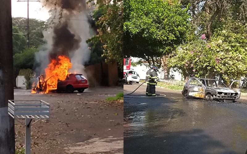 Incêndio em Veículo
