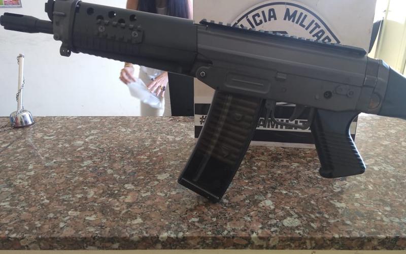 Réplica de fuzil