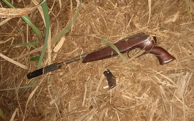 Em tentativa de roubo, arma de bandido explode em Taquaritinga
