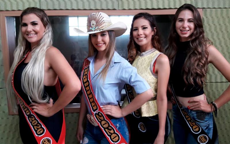 Rainha, princesas e madrinha do Rodeio Show de Jaboticabal falam a 101FM