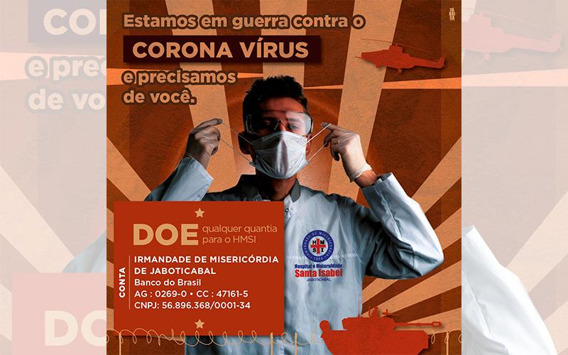 HMSI segue com campanha em prol do hospital na luta contra o coronavírus