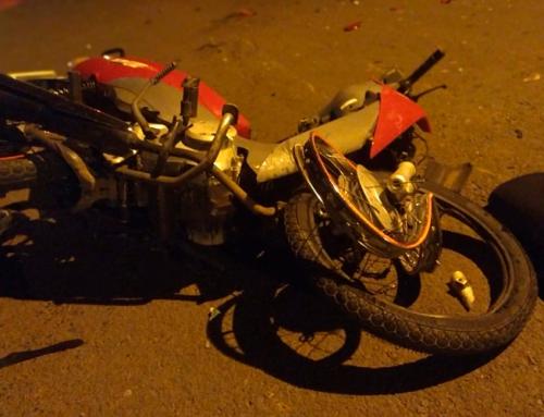 Racha entre motos no distrito industrial termina com feridos e um em estado grave em Ribeirão Preto