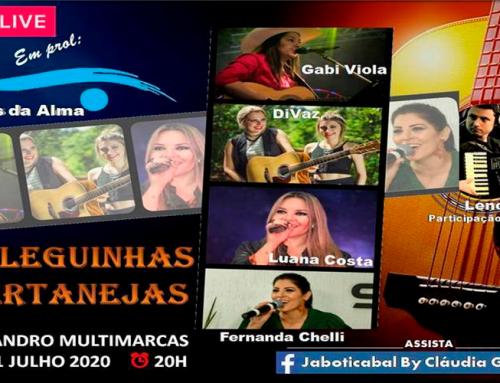 """Live com as """"Coleguinhas Sertanejas"""", em prol da entidade Olhos da Alma, acontece neste sábado, 11"""