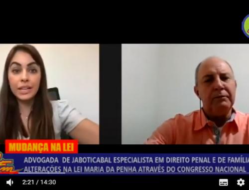 Advogada jaboticabalense, Dra. Jacqueline Batista propõe alterações na Lei Maria da Penha