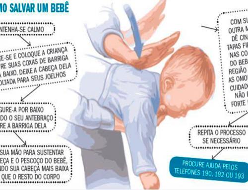 Você sabe o que é a Manobra de Heimlich? Dois casos de desengasgamento de bebês foram registradas na região essa semana