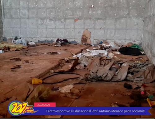 """Novo quadro da 101FM, """"Como fazer uma cidade melhor"""" apresenta a situação do Centro Esportivo Prof. Antônio Mônaco"""