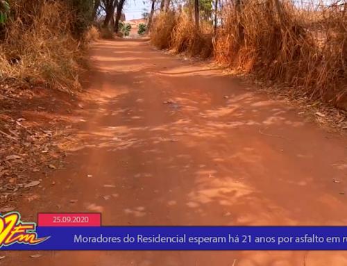 Moradores esperam há pelo menos 20 anos a interligação do Residencial com o bairro Santo Antonio