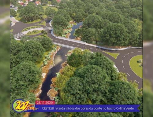 CETESB retarda início das obras da ponte no bairro Colina Verde