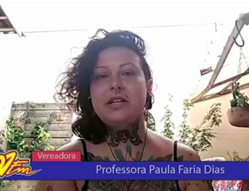 Vereadora eleita Prof. Paula Faria