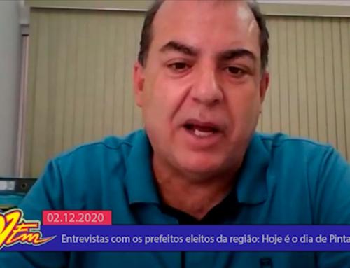 PITANGUEIRAS: Jornal 101 conversa com o prefeito reeleito, Marcos Aurélio Soriano (CIDADANIA)