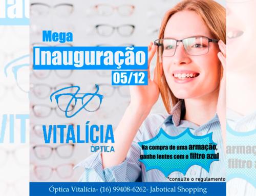 Ótica Vitalícia inaugura neste sábado, 5, às 10h, no Jaboticabal Shopping; confira as promoções de inauguração