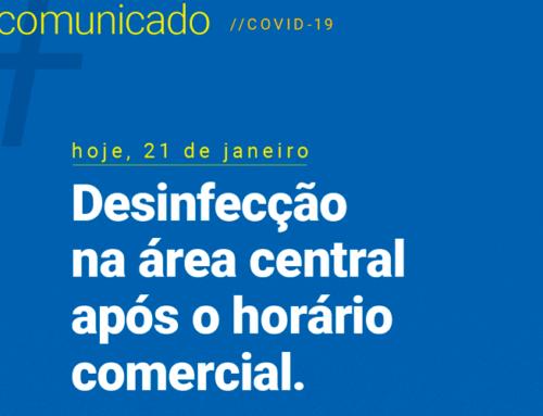 Para combater a propagação do novo coronavírus, Prefeitura de Jaboticabal realiza definfecção da Rua Rui Barbosa
