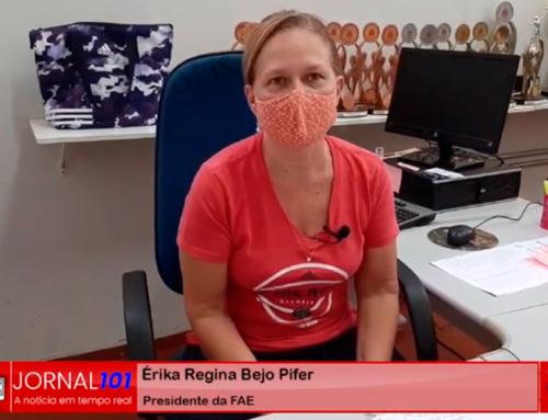 Responsável pelo esporte jaboticabalense, Erika Pifer comenta sobre a triste situação encontrada no ginásio municipal
