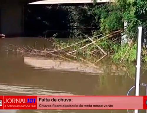 Sistema de captação de água de Jaboticabal no Córrego Rico está em péssimas condições; presidente comenta