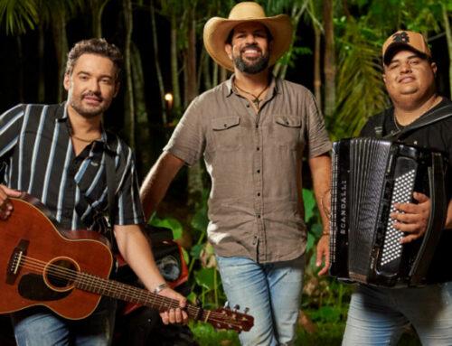 Fernando e Sorocaba gravam com Tarcísio do Acordeon