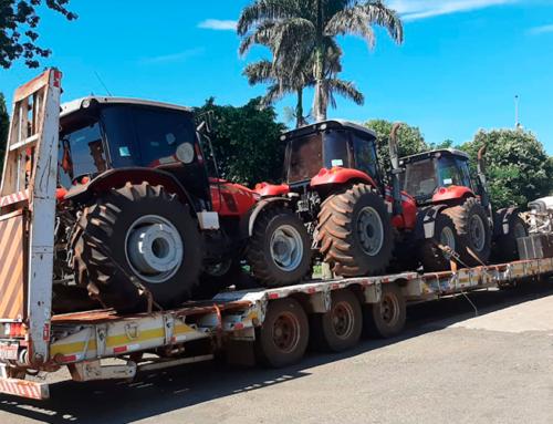 Propriedade rural é assaltada em Jaboticabal; família foi feita refém e bandidos levaram tratores, caminhão e mais um veículo